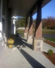 New Build front porch - Samish Heights, Bow WA - Finn Homes INC, 360.708.0789